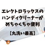 エレクトロラックスのハンディクリーナーのアイキャッチ画像