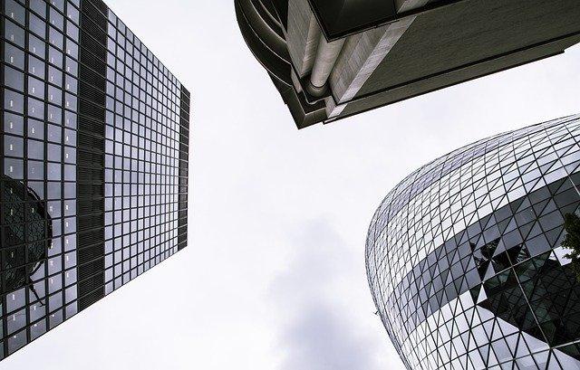 企業の建物